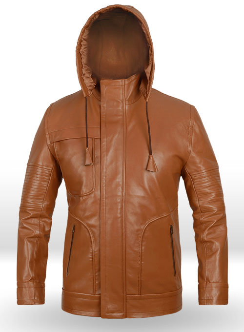 Terrain Brown Mission Impossible Ghost Protocol Leather Jacket