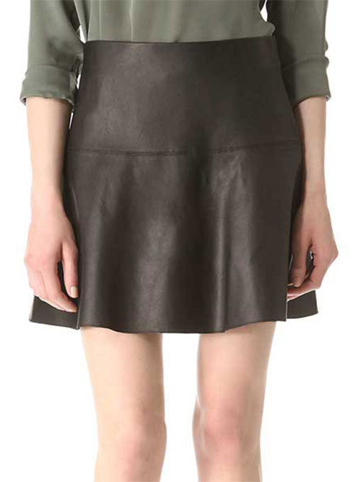 Monaco Leather Skirt - # 158 - 50 Colors