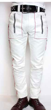 The Moto Rally Leather Pants