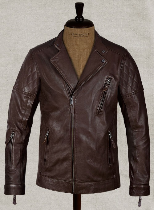 Moto Biker Leather Jacket