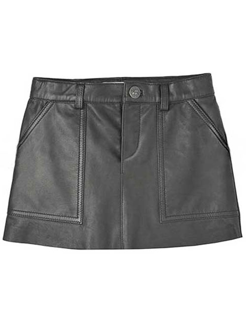 Pebble Leather Skirt - # 419 - 50 Colors