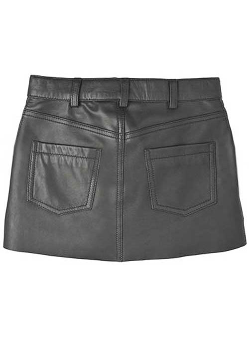 Pebble Leather Skirt - # 419