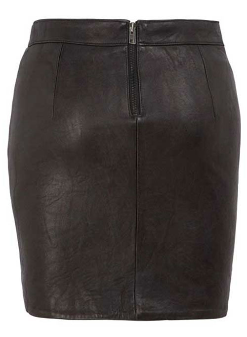Pique Twist Leather Skirt - # 174 - 50 Colors