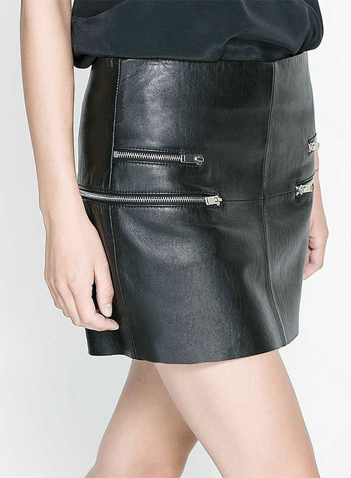 Rebelle Leather Skirt - # 423