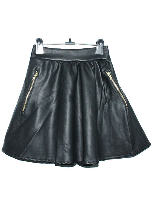 Reflection Leather Skirt - # 175 - 50 Colors