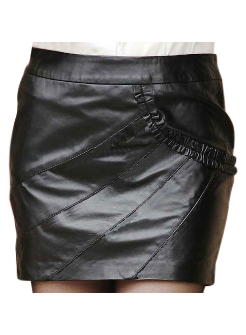 Rhyme Leather Skirt - # 162 - 50 Colors