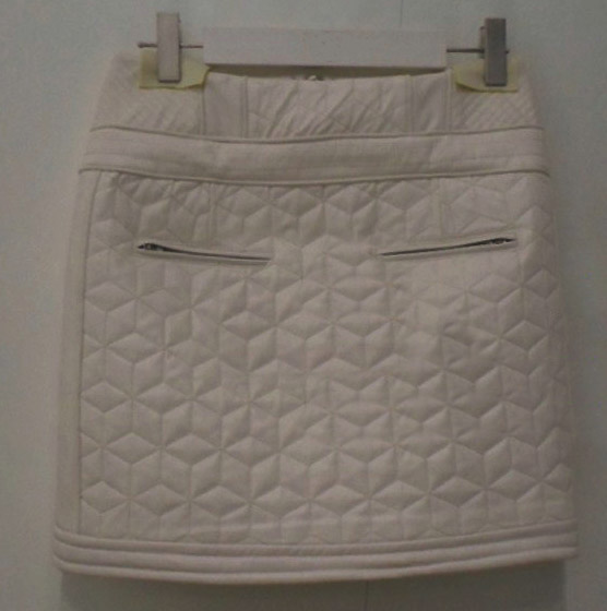Roxy Quilted Leather Skirt - # 468