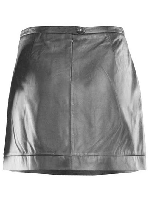 Seamed Leather Skirt - # 453 - 50 Colors