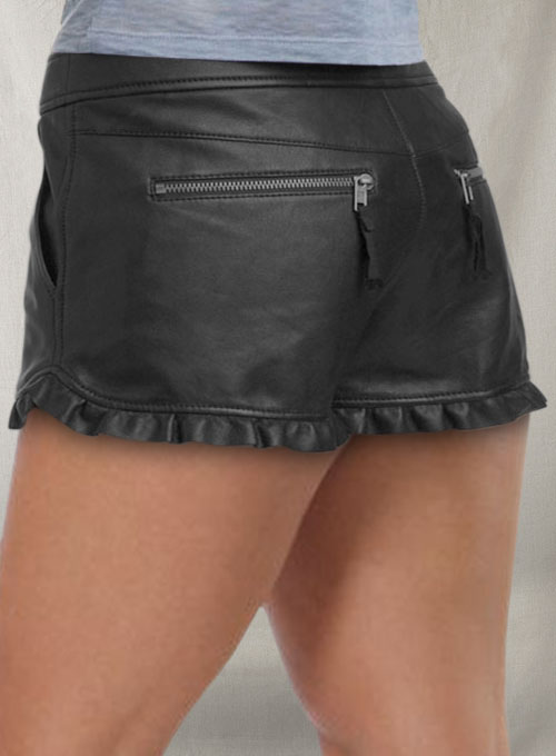 Leather Cargo Shorts Style # 353 - 50 Colors