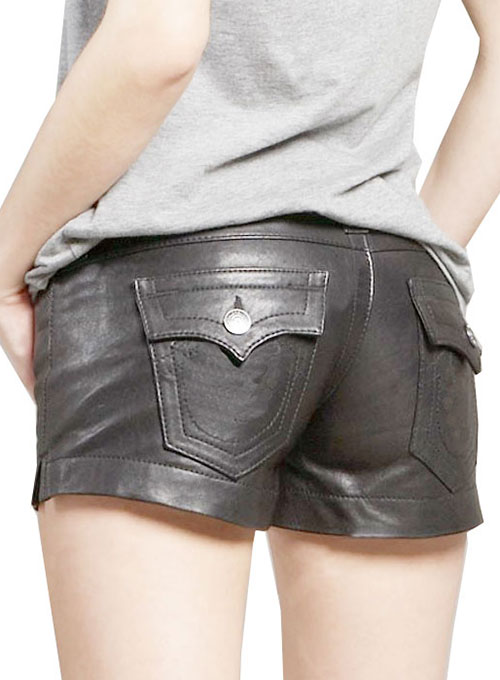 Leather Cargo Shorts Style # 356 - 50 Colors