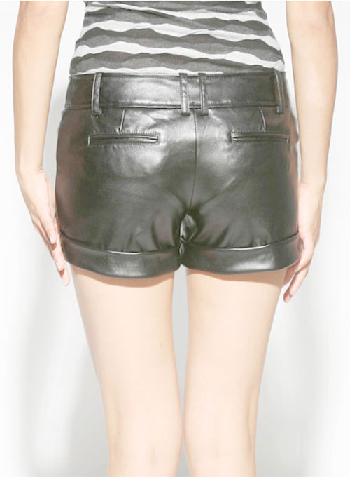 Leather Cargo Shorts Style # 357 - 50 Colors