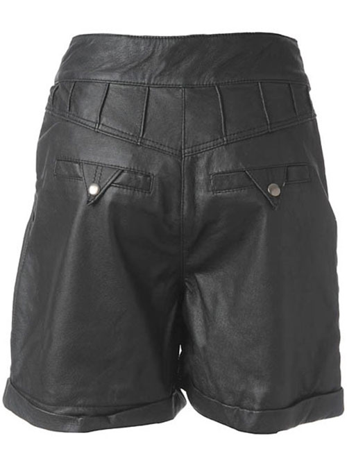 Leather Cargo Shorts Style # 358 - Click Image to Close