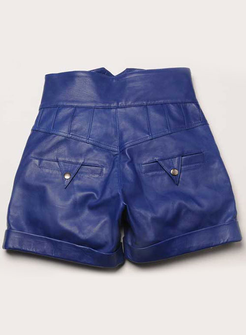 Leather Cargo Shorts Style # 358 - 50 Colors