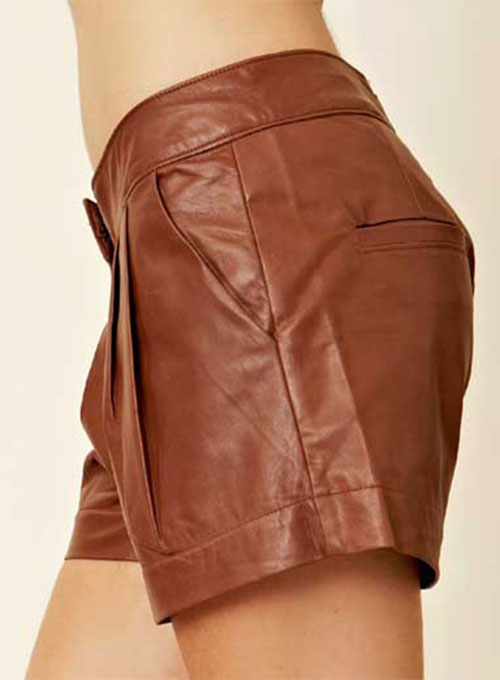 Leather Cargo Shorts Style # 360 - 50 Colors