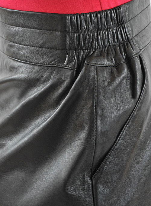 Sporty Leather Skirt - # 465