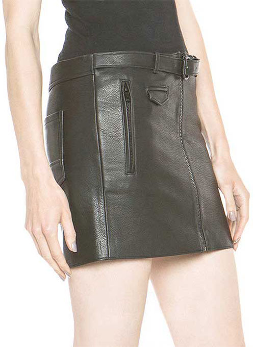 Sweet Revenge Leather Skirt - # 427  - 50 Colors