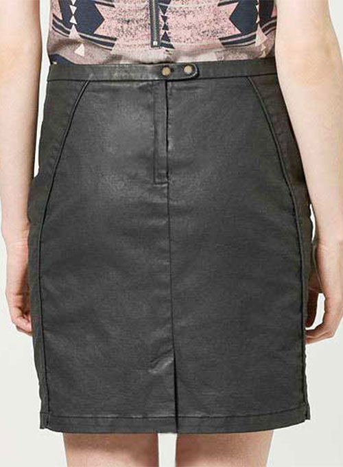 Versus Leather Skirt - # 197 - 50 Colors