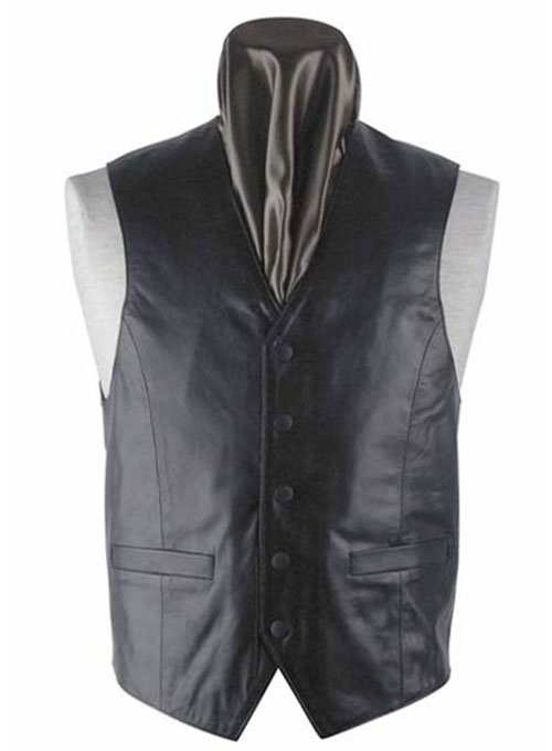 Leather Vest # 302 : MakeYourOwnJeans®: Made To Measure ...
