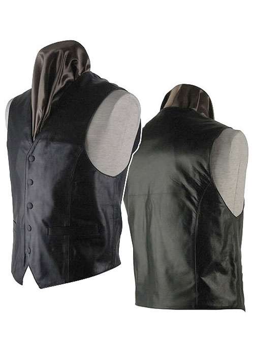 Leather Vest # 302 - 50 Colors