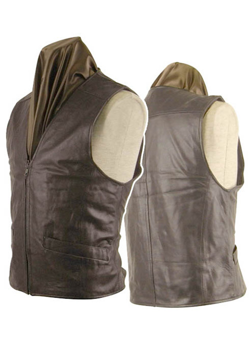 Leather Vest # 304 - 50 Colors
