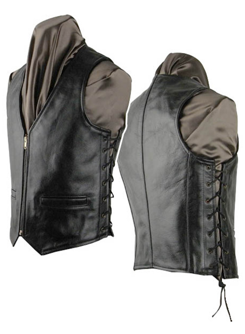 Leather Vest # 307 - 50 Colors