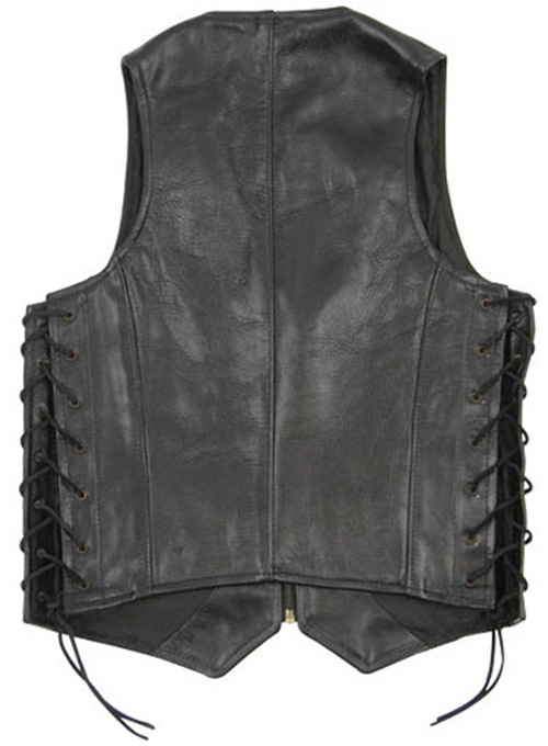 Leather Vest # 307 - Click Image to Close