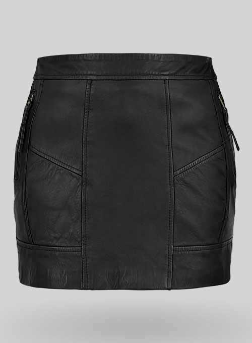 Vicious Leather Skirt - # 483