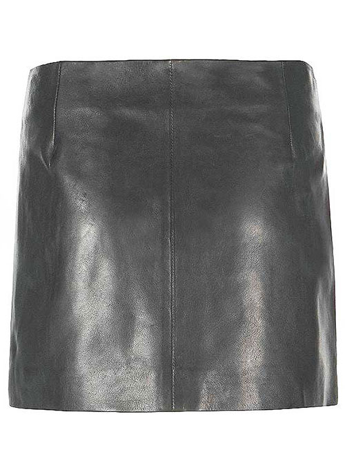 Winnie Leather Skirt - # 406 - 50 Colors