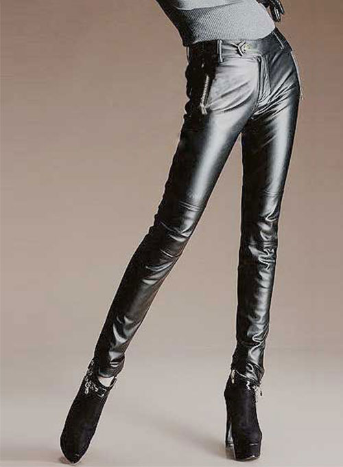 Zora Leather Pants - 50 Colors