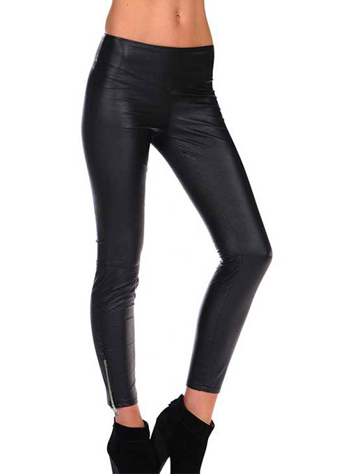 Leather  Leggings - 50 Colors