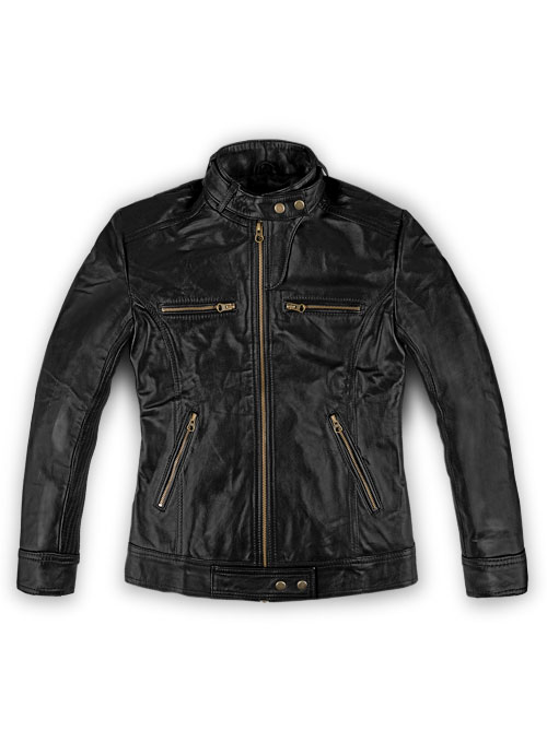 Leather Jacket # 217