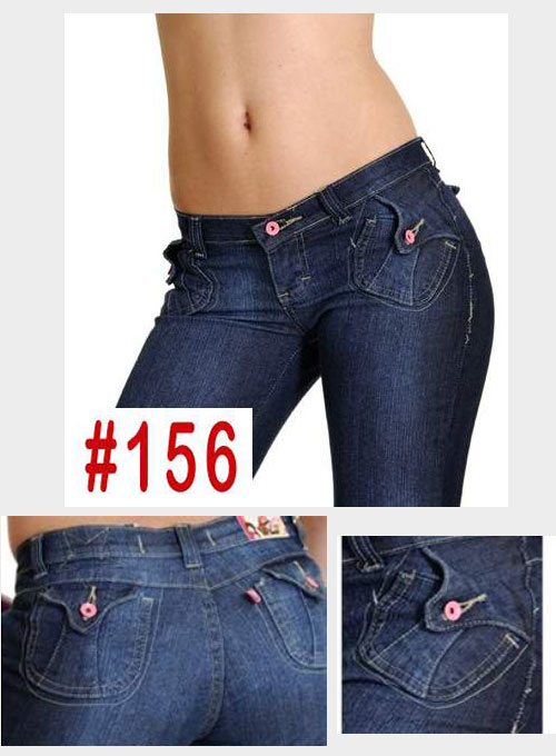 Brazilian Style Jeans - #156 - Click Image to Close