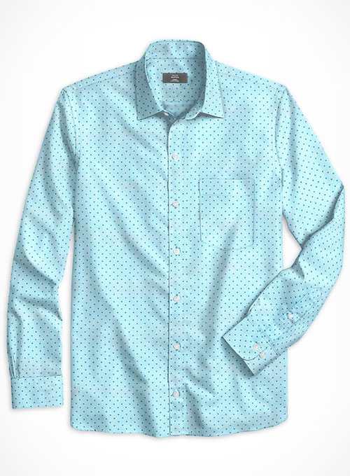 Cotton Anunci Shirt - Full Sleeves - Click Image to Close