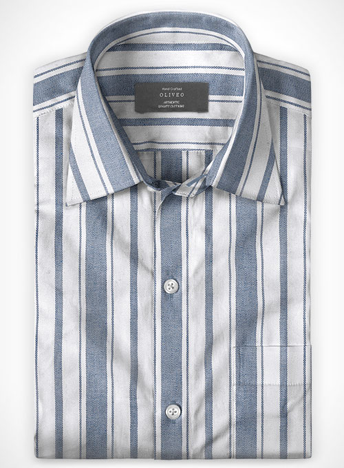Cotton Linen Lando Shirt - Full Sleeves