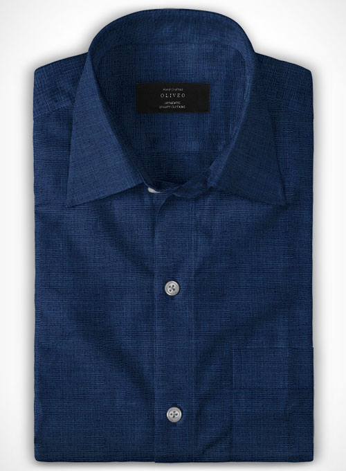 Filafil Poplene Midnight Blue Shirt