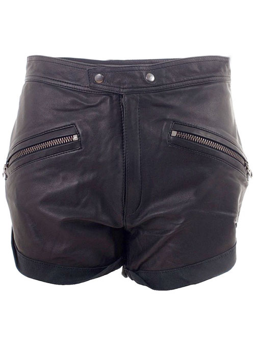 Leather Cargo Shorts Style # 351 - 50 Colors