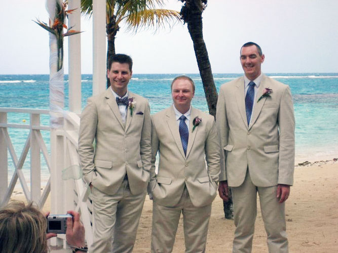 Beach Wedding Suits