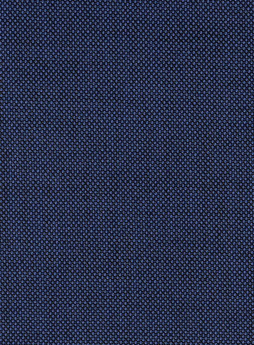 Birdseye Wool Royal Blue Suit