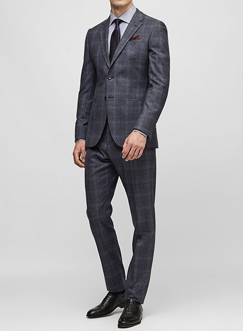 Cashmere Wool Flannel Suits