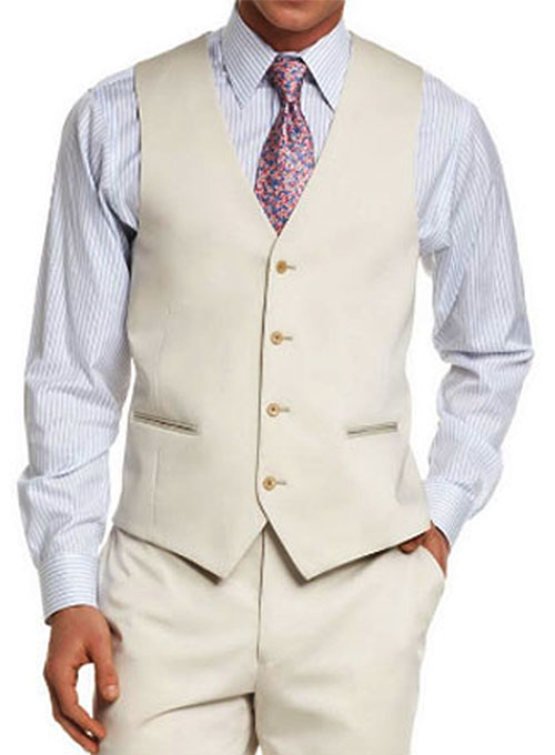 Cotton Waist Coat - Pre Set Sizes - Quick Order