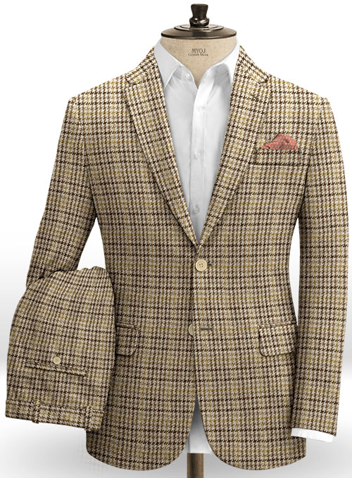 Harris Tweed Classic Beige Suit