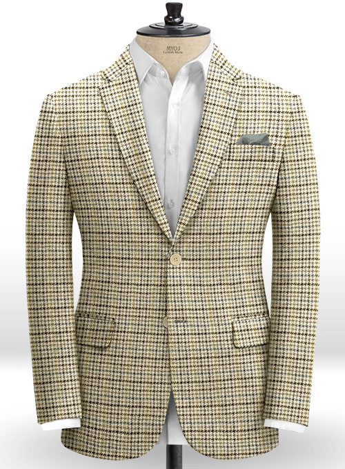 Harris Tweed Classic Fawn Suit - Click Image to Close