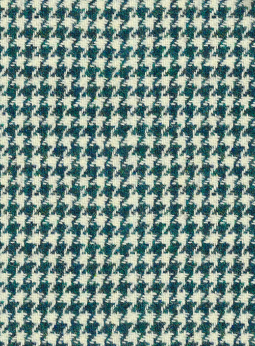Harris Tweed Houndstooth Green Suit