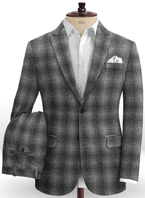 Harris Tweed Scot Gray Suit