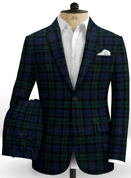 Harris Tweed Yale Tartan Suit