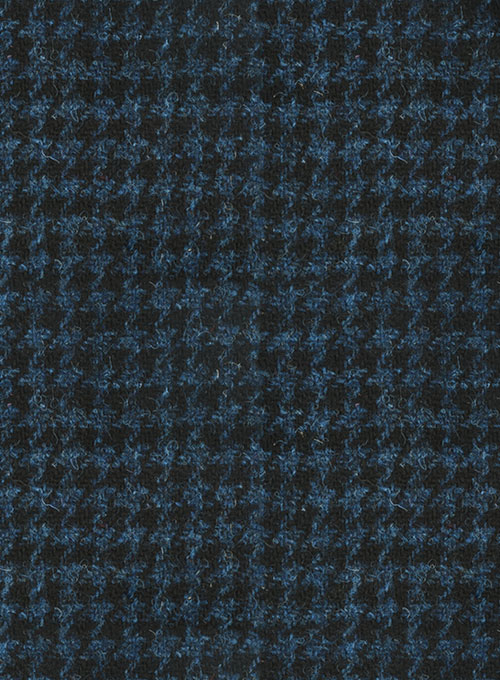Harris Tweed Houndstooth Isle Blue Suit