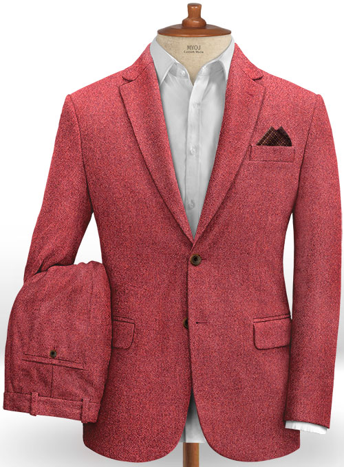 Italian Melange Candy Tweed Suit