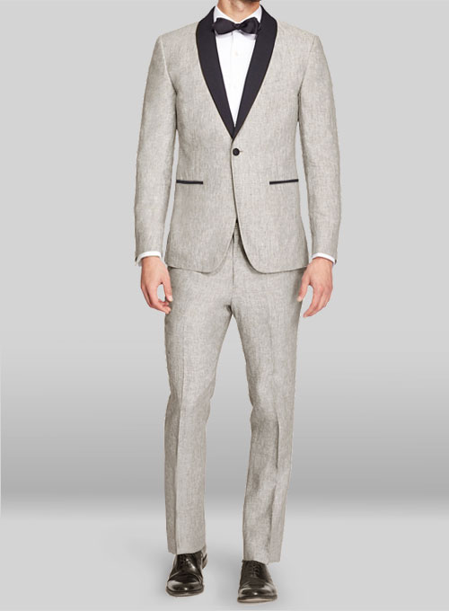 Linen Tuxedo Suit Makeyourownjeans 174 Made To Measure