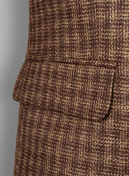 Maze Brown Tweed Jacket