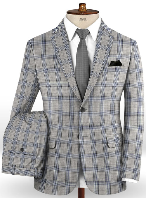 Napolean Inara Gray Wool Suit
